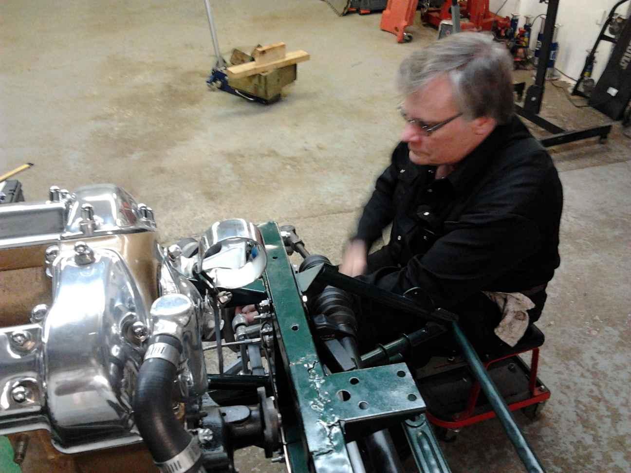 Nov 2012 Installing brakes